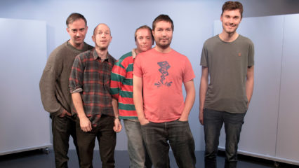 Gruppenfoto der Band The Wave Pictures