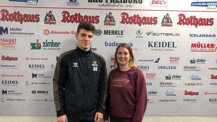 Beitragsbild Interview mit Eishockey Torhüter Luis Benzing