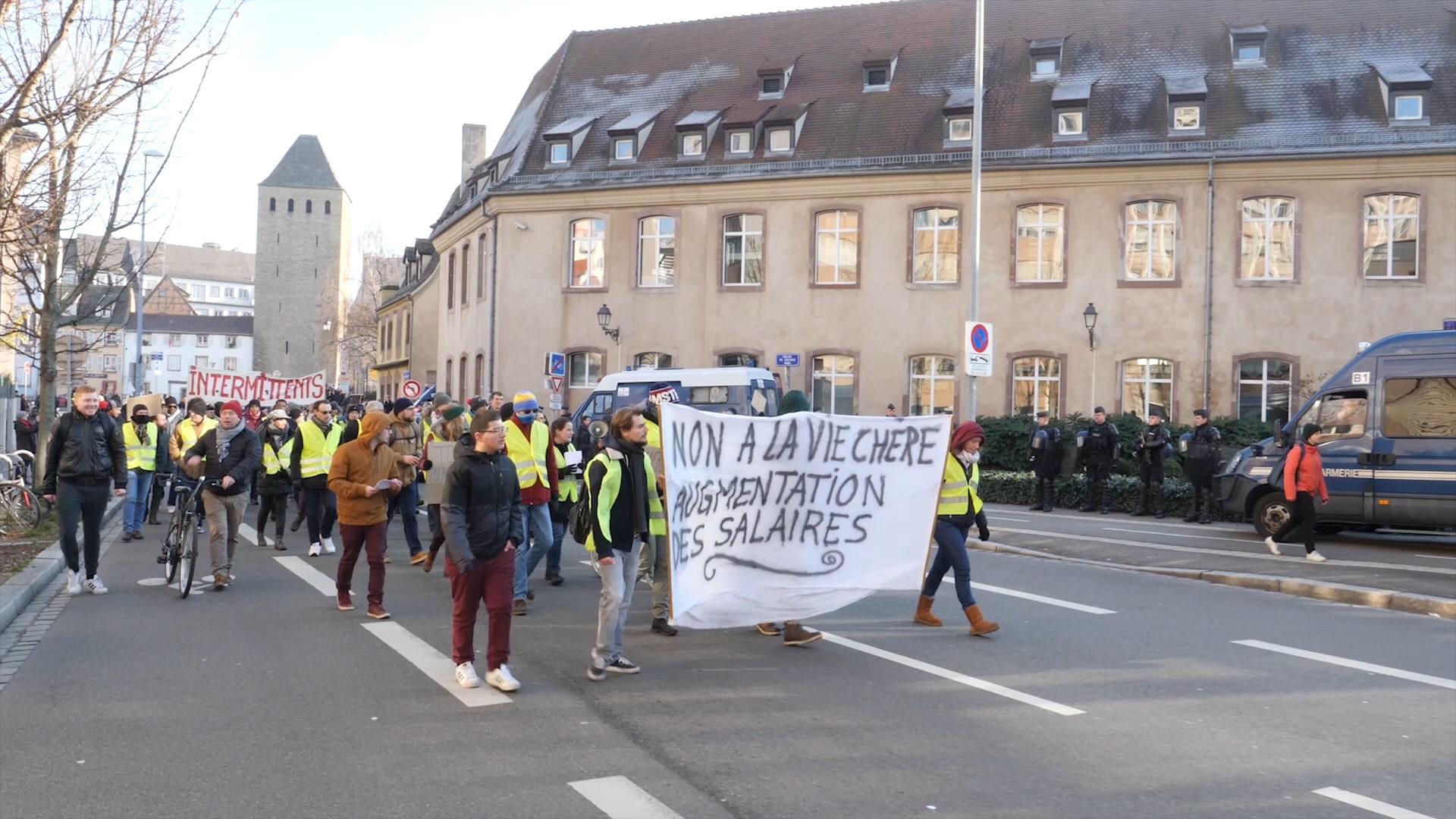 Beitragsbild Protestkultur – Gelbwesten in Frankreich