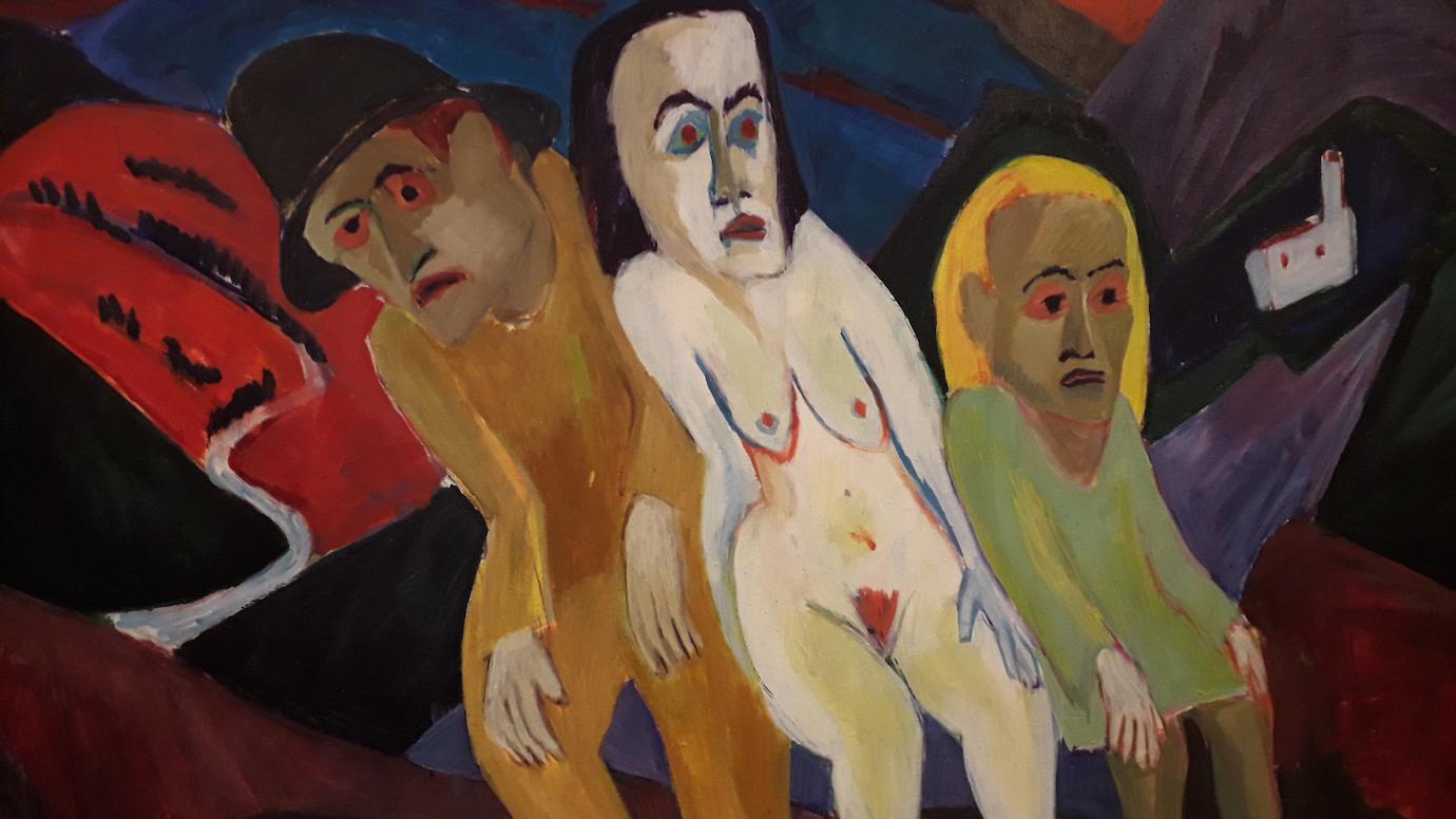 """Beitragsbild """"Expressionist Scherer"""" – Ausdrucksmittel Form und Farbe"""
