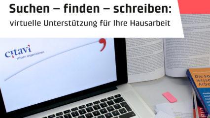 Laptop mit Zitierprogramm Citavi