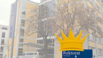 Rektorat mit Krone