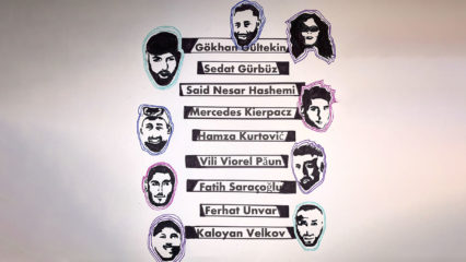 Namen und Bilder aller Opfer des Attentats in Hanau