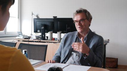 Michael Schwarze im Gespräch
