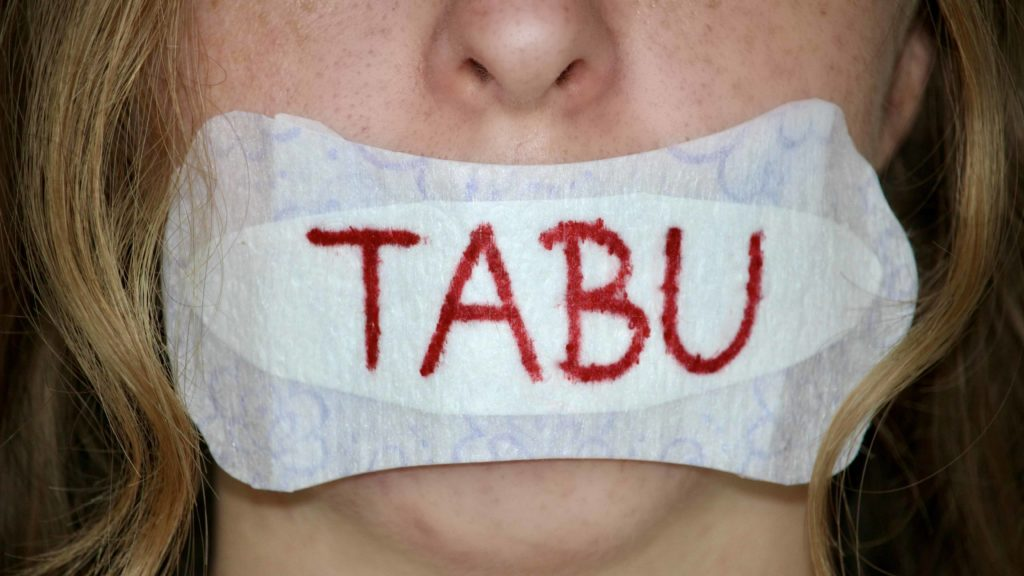 Die Menstruation: blutiges Tabu!