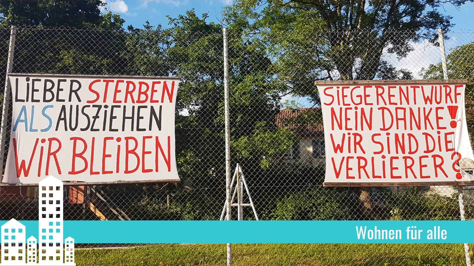 Beitragsbild Verdrängung im Metzgergrün